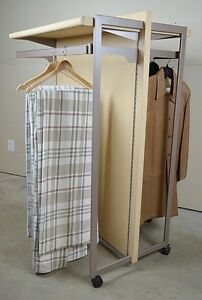 Industrial Grade Two-Sided Rolling Wardrobe Adjustable