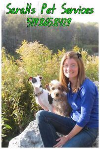 Sarah's Pet Services