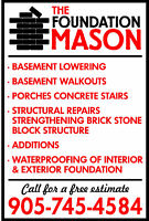 Need some masonry done ?