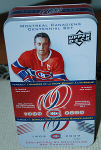 UD Montreal Canadiens Centennial Base Card Set 1-200 Plus