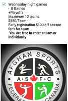 SUMMER MENS INDOOR SOCCER LEAGUE  *STARTS AUG,5TH*
