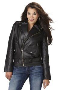 Women's Motorcycle Jacket Large, New