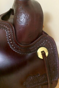 Awesome Tucker Elkhorn Western Saddle in new condition!