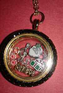 Beautiful New Locket with Charms!