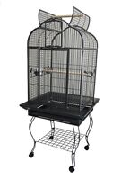 Stylish Open Top Style Parrot Cage