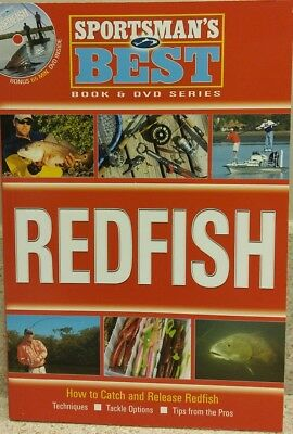 Sportsman's Best Redfish Book and DVD Combo SB5 -Techniques & Tips From The Pros