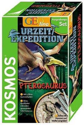 Kosmos Geolino 630157 Urzeit Expedition PTEROSAURUS  Ausgrabungsset  Neu !