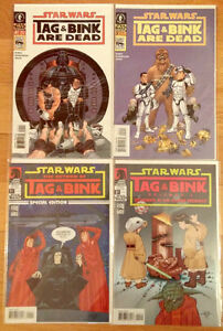 Star Wars: Tag and Bink Are Dead I + II Complete Dark Horse