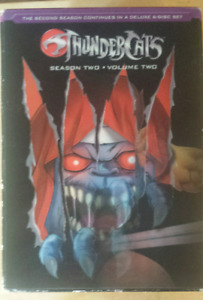 3 sets of ThunderCats DVDs