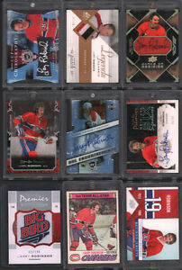 Larry Robinson Rare Hockey Cards AUTO PATCH JERSEY+