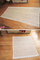 Cotton Curtains - 2 Different Sized Panels