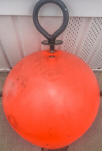 "WATERCRAFT MOORING BUOY - Norwegian Buoys 60"" Made in Norway"