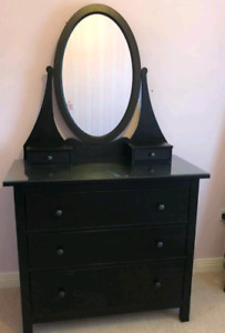 Ikea Hemnes dresser / armoire with large mirror