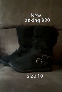Brand new sneakers and boots