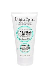 Natural hair gel for babies & up by Original Sprout