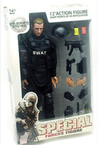 Police SWAT Figurine d'action 12 pouces 1/6 Neuf