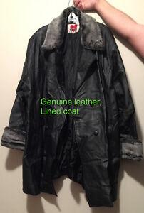 Women's 5X  Genuine Leather Coat