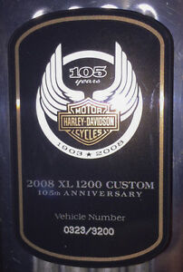 2008 Harley Sportster 1200 105th Anniversary Special Strathcona County Edmonton Area image 6