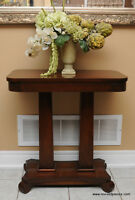 Antique Empire Occasional / Hall Table