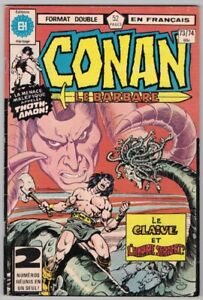 1978, CONAN LE BARBARE, #73/74, 52 PAGES