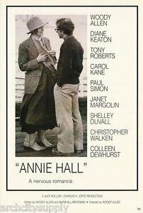 POSTER :MOVIE REPRO: ANNIE HALL : DIANE KEATON    - FREE SHIP #ST2722  LC31 i