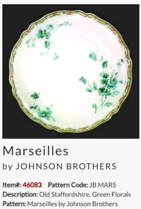 Johnson Brothers Old Staffordshire 'Marseilles' pattern