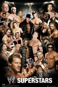 WWE Superstars : Collage - Maxi Poster 61cm x 91.5cm (new & sealed)