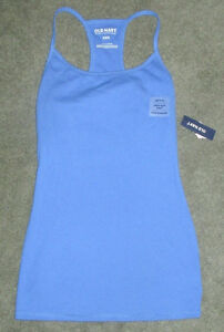 Old Navy women's blue racerback top with built in bra London Ontario image 1