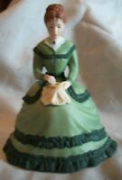 """Franklin Mint """"Meg"""" Little Women Figurine"""