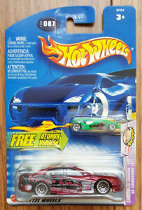 "Hot Wheels 2003 - Free Atomix + ""SS Commodore"" - NEW, SEALED"