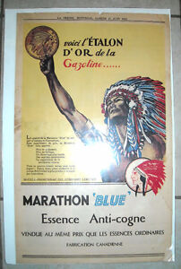 1932 - Vintage Advertising Posters, authentic full-page magazine