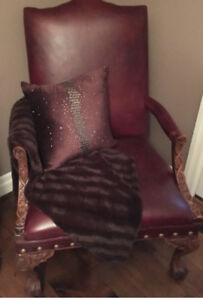 Leather Estate Chair