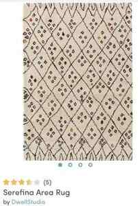 8 x 11 Dwell Studio rug for sale / $495