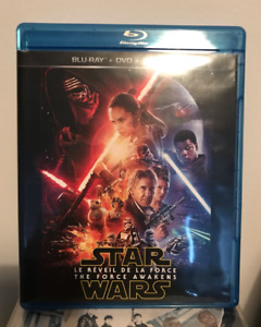 Star Wars: The Force Awakens BLU RAY