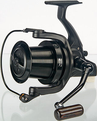 TF Gear DL Black Edition Big Pit Carp Fishing Distance Reel Ex Demo TFG