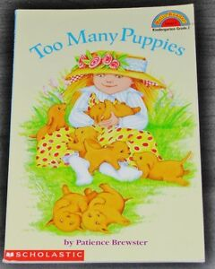 Too Many Puppies by Patience Brewster (1997, Paperback)