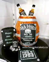 Beautifully detailed birthday/adult party cakes. RUSH ORDERS OK!