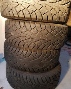 Winter Tires on rim