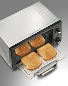 Toaster Oven, Stainless   Brand New