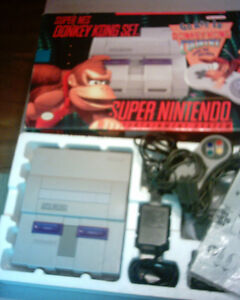 Super Nes System and games