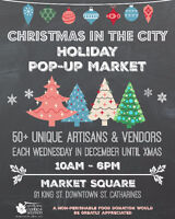 Vendors Wanted For Downtown Holiday Market