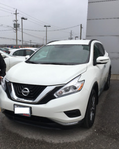 Take over my Lease and Save 2017 Nissan Murano S