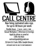 Downtown Guelph Call Centre