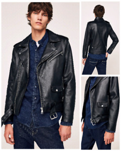 Zara Leather Jacket Men Buy Or Sell Clothing For Men In Ontario