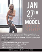 'Become a Model' Workshop - YvensB + Ciara