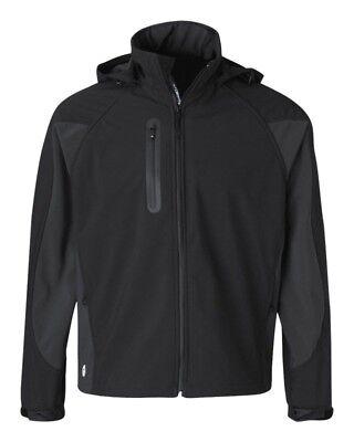 Men's Black Stormtech XJ-1, H2XTREME Soft Tech Bonded Shell Jacket, M Size
