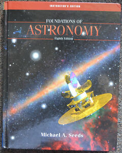 Foundations of Astronomy 8th Edition by Michael Seeds -HardCover