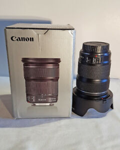 Canon EF 24-105mm f/3.5-5.6 IS STM Lens-Never used