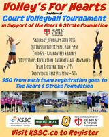 Volleyball Tournament - Feb 20!