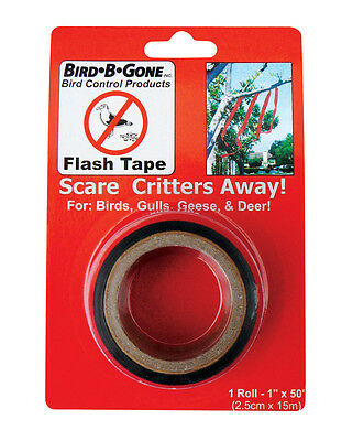 Bird B Gone MMFT-050 1' x50' Bird Deterrent Flash Tape